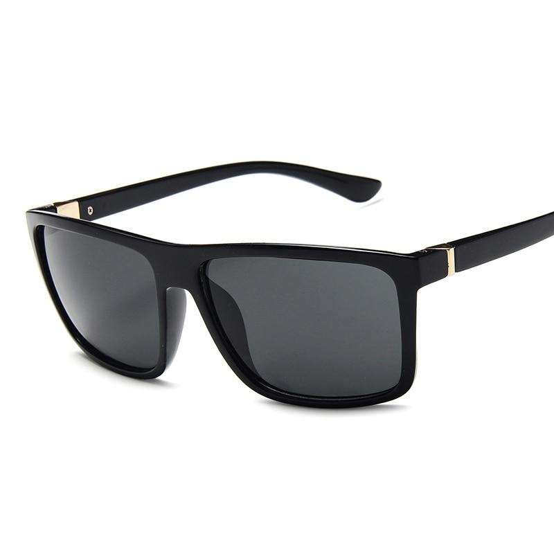 Fsqce vintage óculos de sol unissex praça famosa marca retro feminino para homens uv400