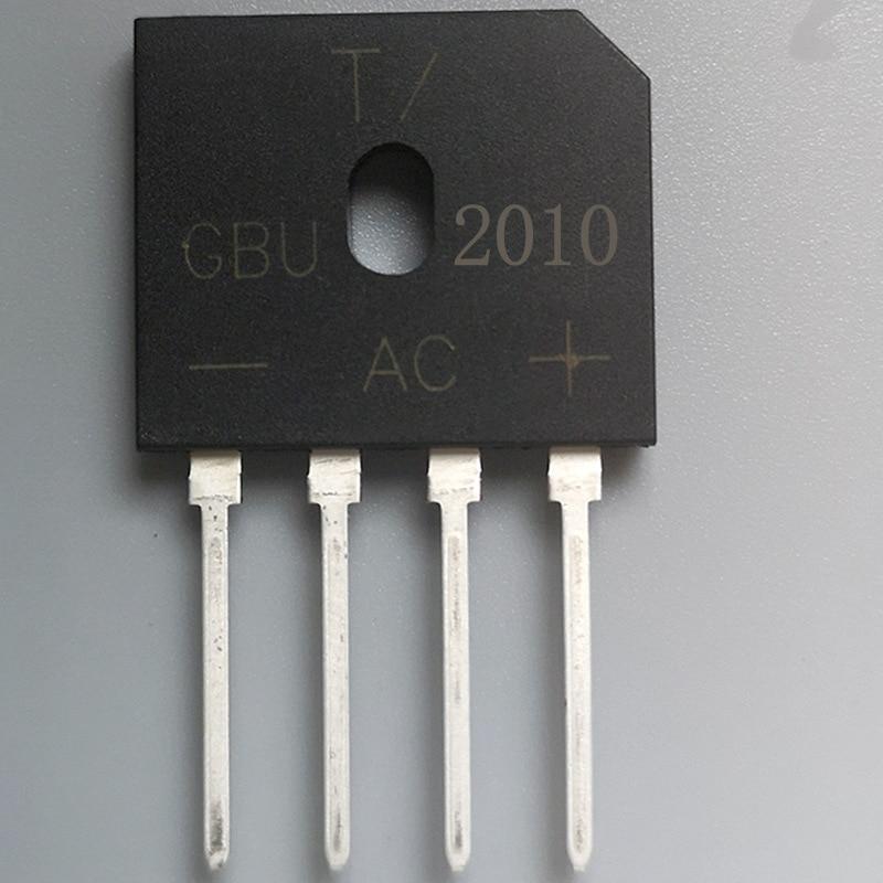 Fabricante Venta Directa GBU 2010 GBU paquete puente rectificador 20A1000V puente rectificador GBU 2010