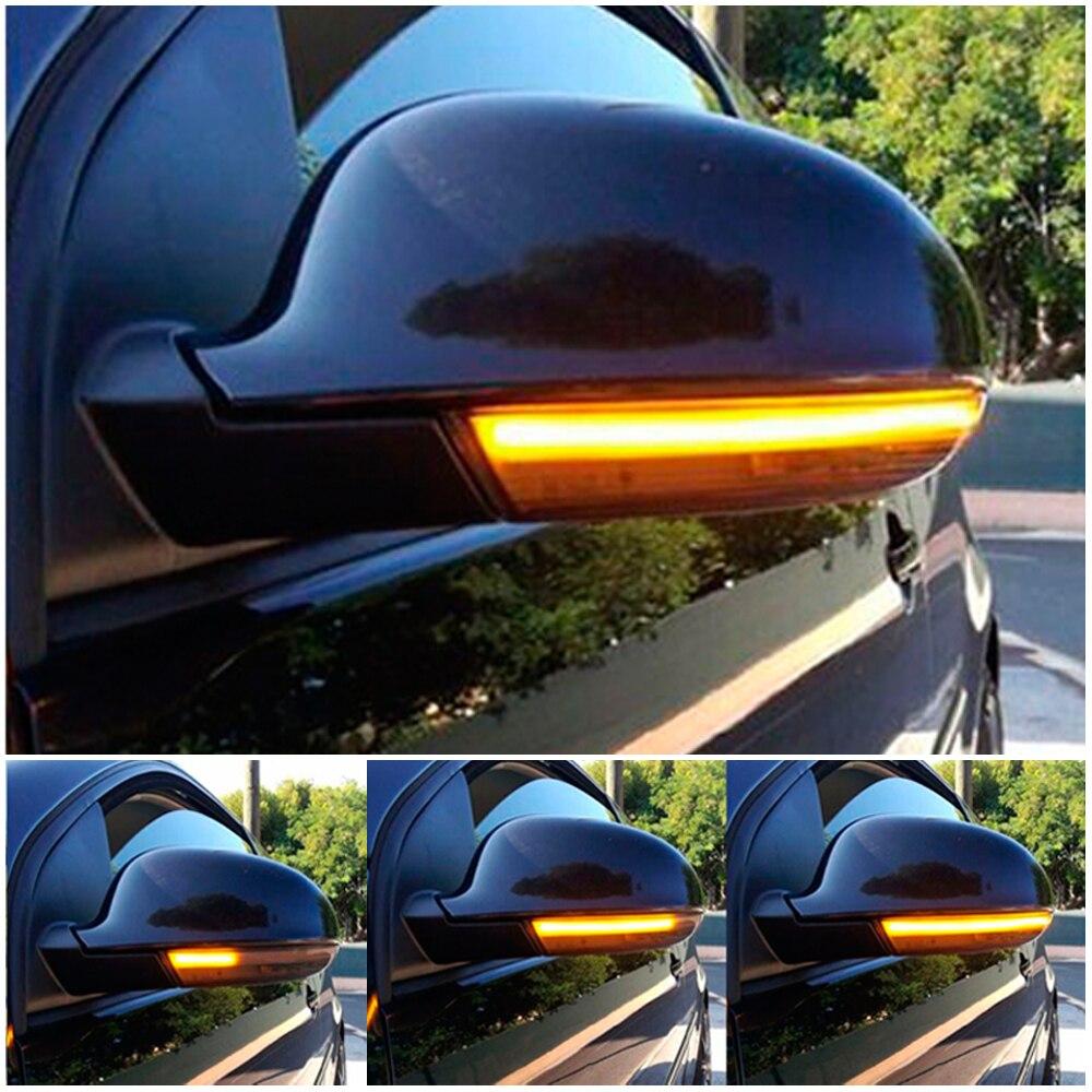 Ala lateral Turn Signal LED Retrovisor MK5 5 Blinker Luz Para Volkswagen GOLF GTI Jetta Variant Passat B5.5 B6 Plus EOS Sharan