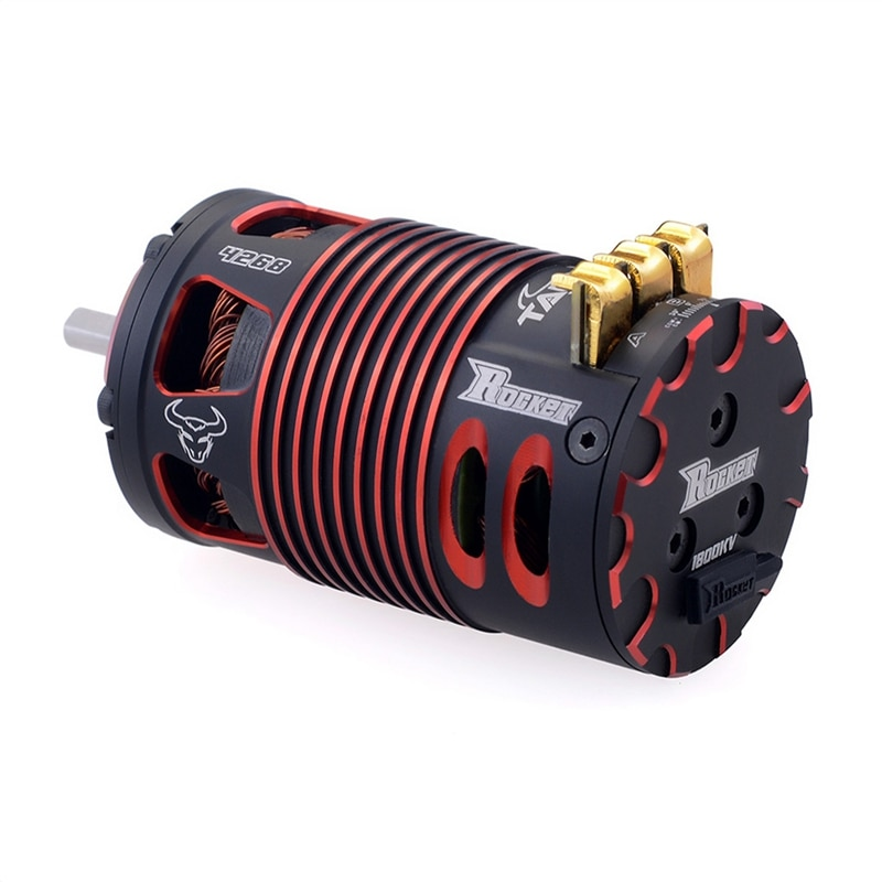 Surp hobby rocket 4268 v2 1850kv sensored brushless motor para 1/8 rc on-road carro fora de estrada