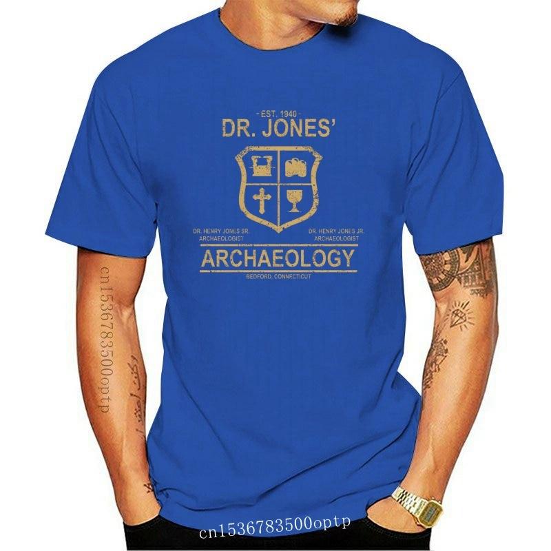 New 100% Cotton O-neck Custom Printed Tshirt Men T shirt Dr. Jones Archaeology - Indiana Jones Women T-Shirt