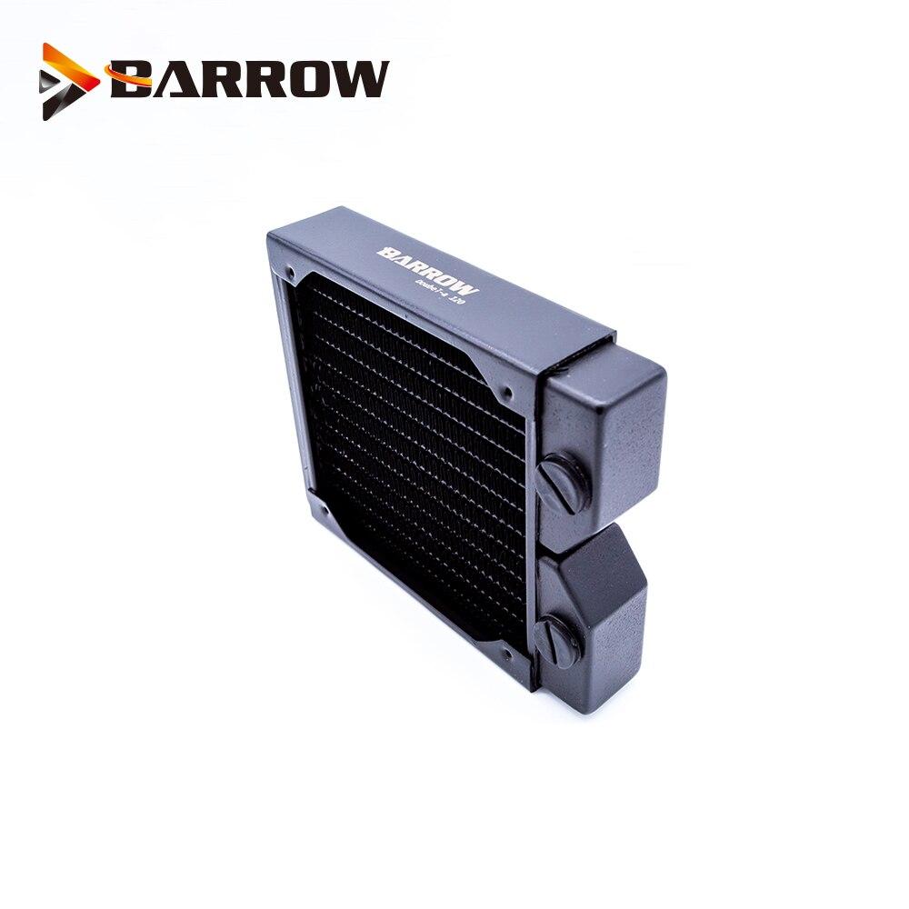 BARROW 30mm de espesor de cobre 120mm radiador ordenador descarga de agua líquido Intercambiador de Calor G1/4 uso roscado para ventiladores de 12cm