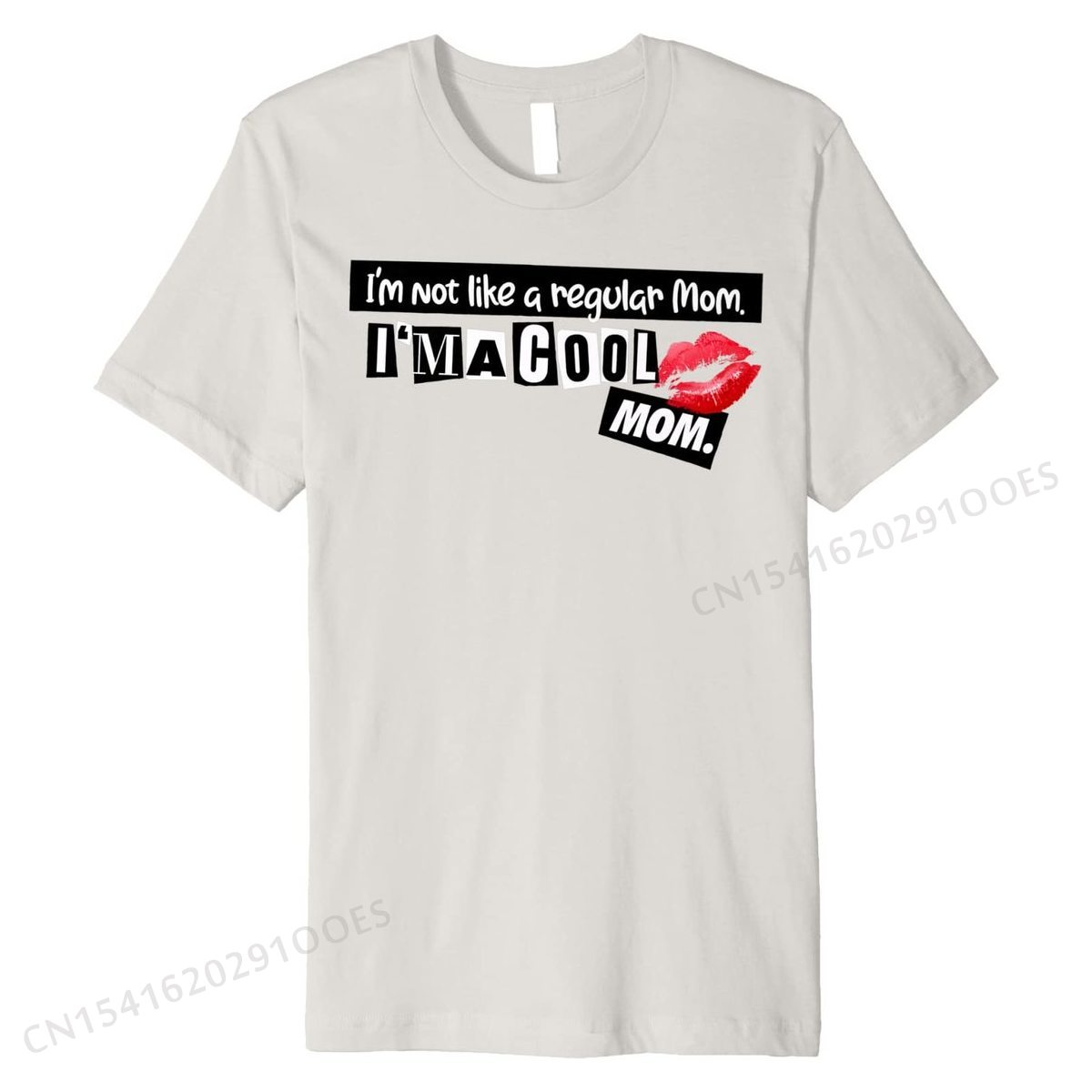 I not a regular mom I'm a cool mom Premium, Хлопковая мужская футболка, нормальные топы, футболки, дизайнерские уличные футболки