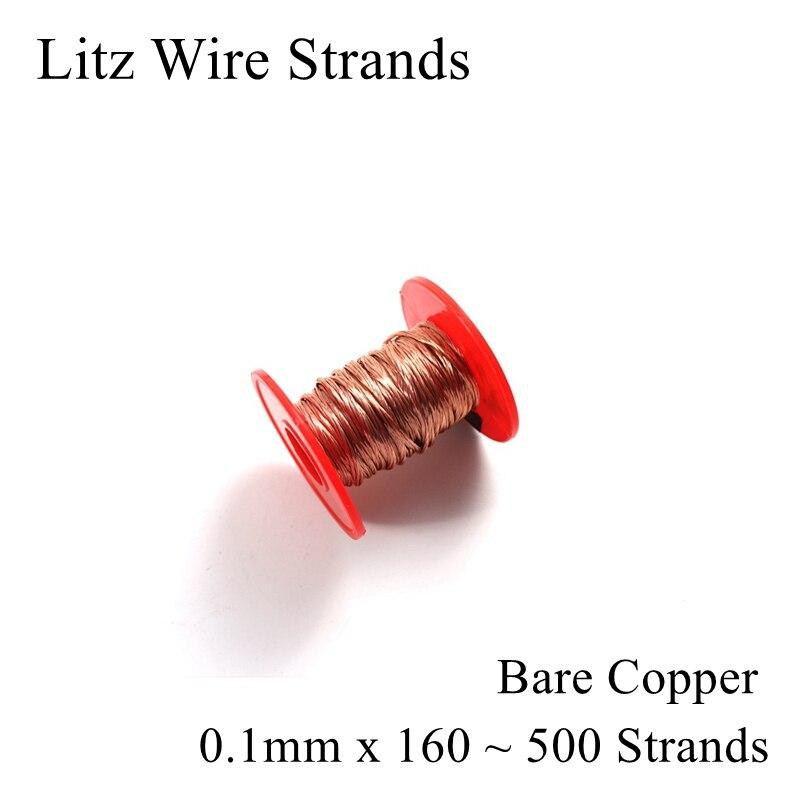 0.1 milímetros 160 180 200 230 250 500 Vertente Fio Litz Fios de Poliuretano fio de Cobre Esmaltado vertente Multi-Litz Fios 0.1
