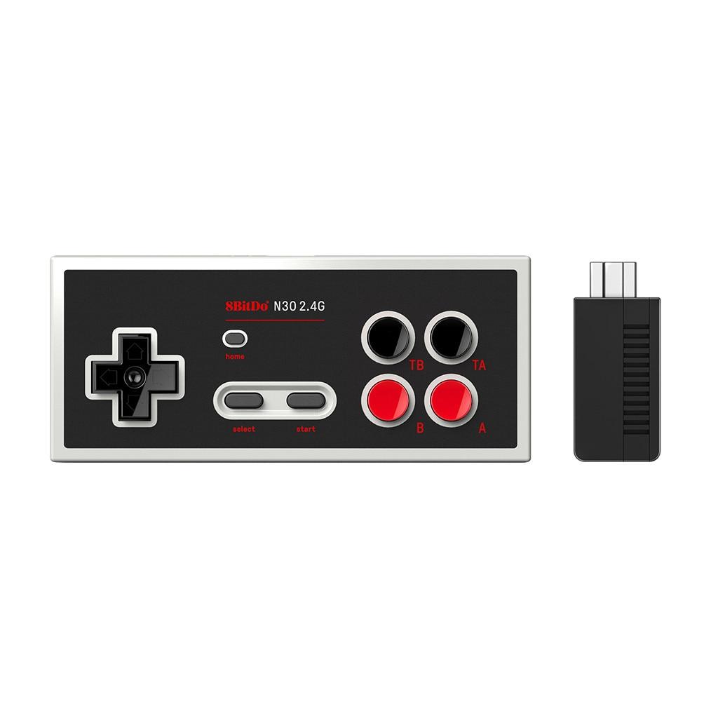 N30 2.4G لوحة ألعاب لاسلكية ل NES الطبعة الكلاسيكية تحكم غمبد الرجعية اللاسلكية لعبة التحكم 327 #2