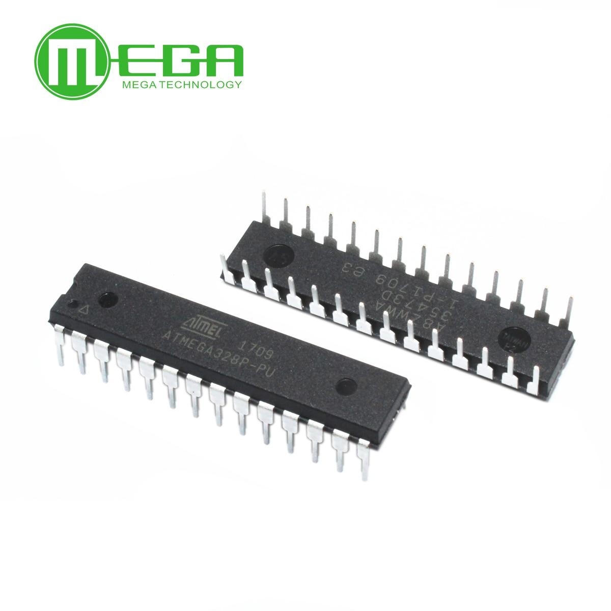 جديد 10 قطعة ATMEGA328P-PU ATMEGA328 متحكم DIP28