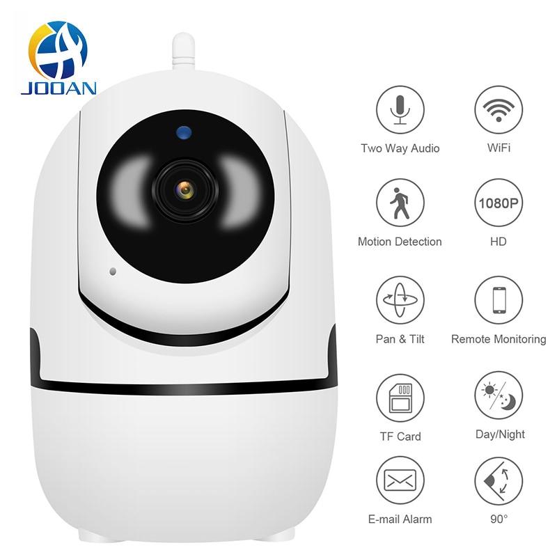 Беспроводная облачная ip-камера с автоматическим отслеживанием, 1080P, инфракрасная Ночная камера для наблюдения за ребенком, сетевая мини-кам...