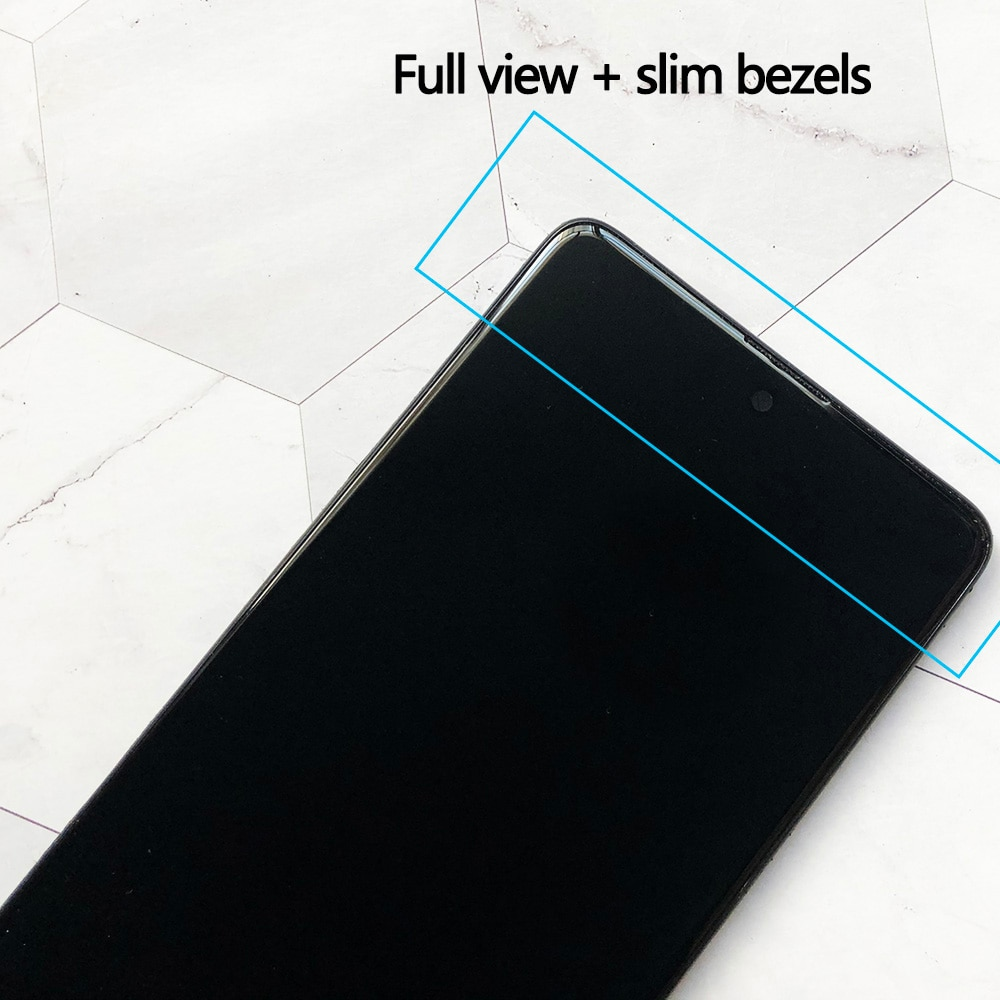 Original AMOLED For Samsung Galaxy A71 LCD Touch Digitizer Sensor Glass Assembly For Samsung A71 Display A715 A715F A715FD OEM enlarge