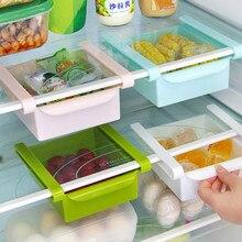 Étagère de rangement multifonction   Fournitures de cuisine, réfrigérateur étagère de rangement tiroir cadre de séparation étagère en plastique, boîte de rangement multifonctionnelle LB1085
