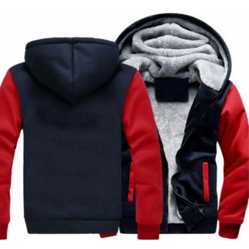 Мужское зимнее пальто с защитой от ветра, утепленное повседневное пальто с капюшоном, мужское плотное пальто на молнии, новинка 2021
