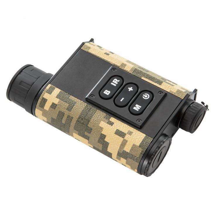 6X البصريات التكبير الأشعة تحت الحمراء الرقمية جهاز الرؤية الليلية 500 متر الليزر المدى مكتشف الظلام تتراوح بين وضع القياس المتعدد Rangefinder