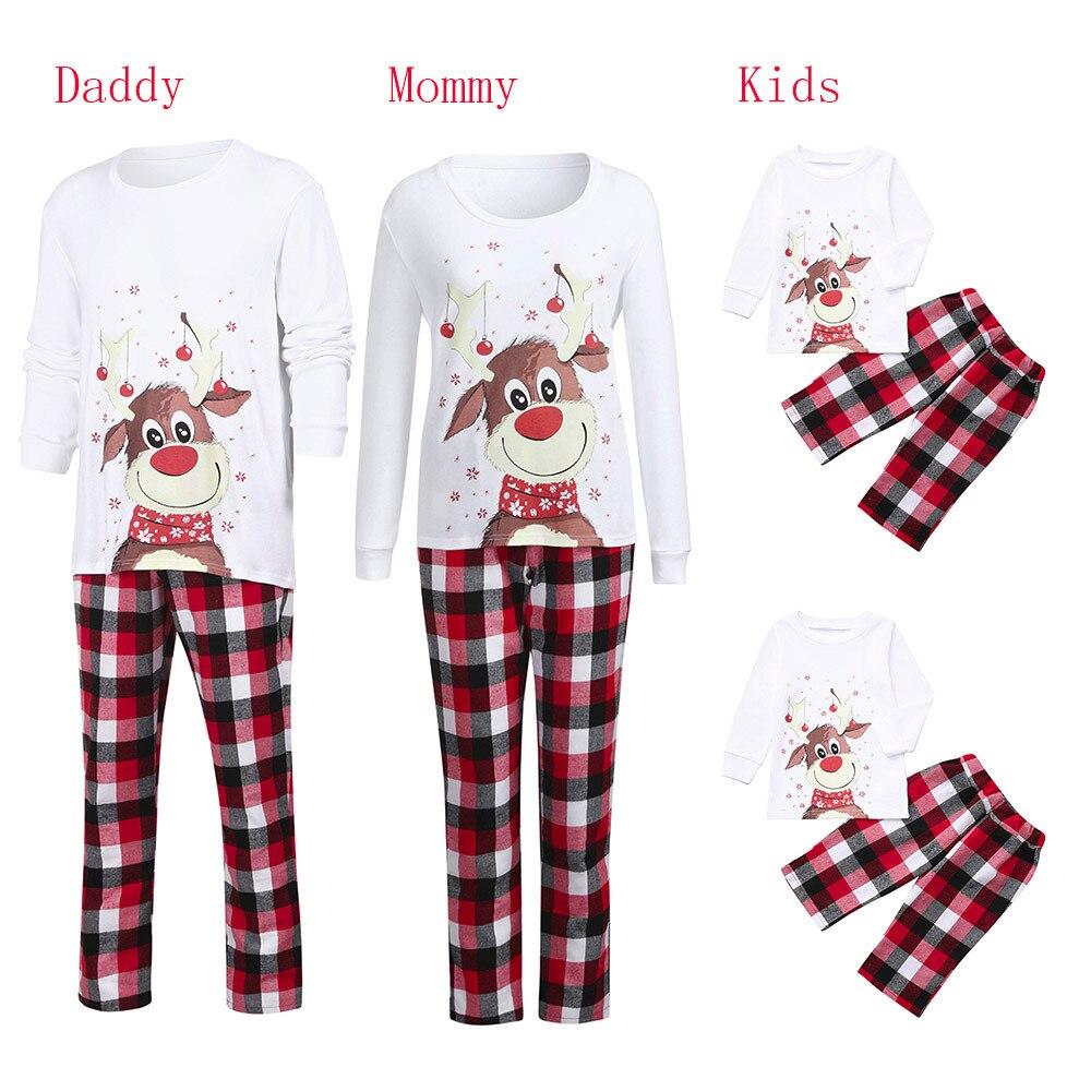 Pijamas familiares a juego para hombres y bebés, ropa de dormir familiar...