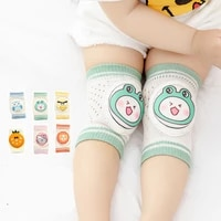spring and summer mesh baby boy childrens knee pads cartoon breathable toddler anti fall crawling protective gear breathable