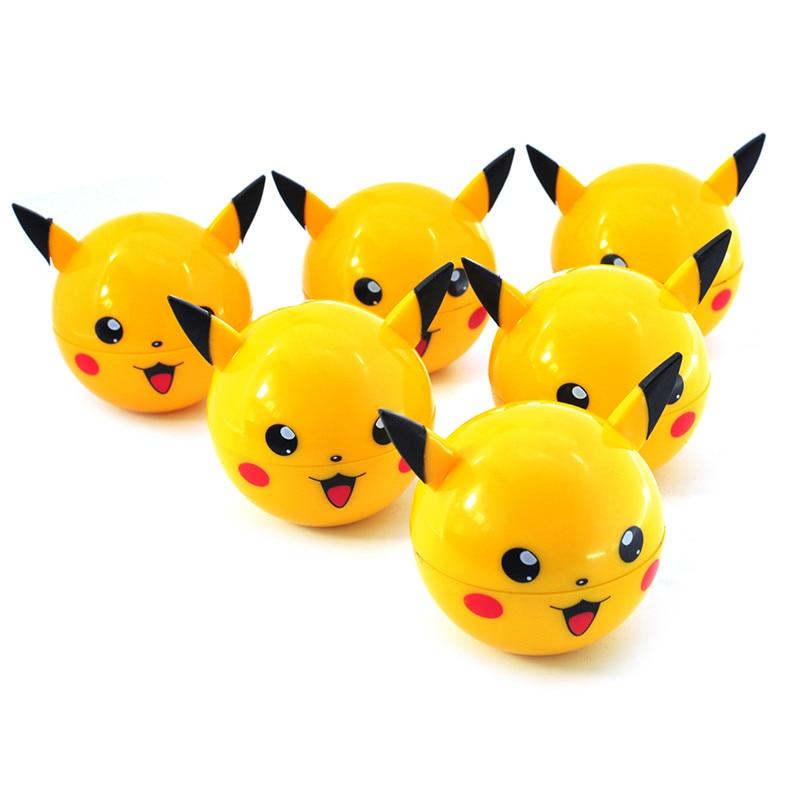 Picadora de Pikachu molinillo de malezas 55mm Metal 3 capas gran oferta