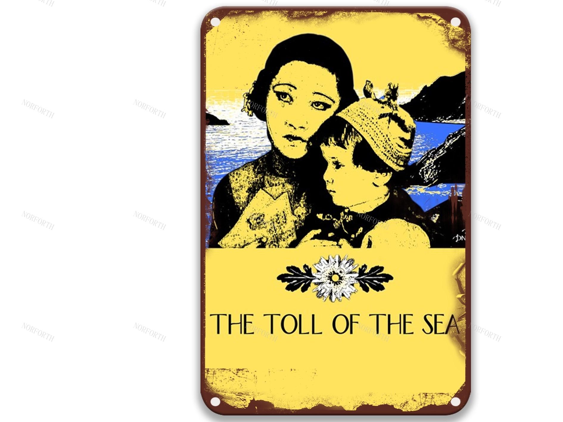 El número de el mar de 1922 años Furn carteles de Metal...