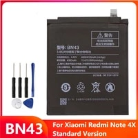 bn43 replacement phone battery bn43 for xiaomi redmi note4x hongmi note 4x standard version 4000mah with free tools