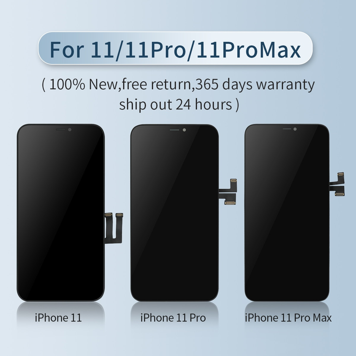 For iphone X OLED XS XSMAX SOFT With 3D Touch Digitizer Assembly 11 Pro Max LCD Screen Replacement Display enlarge