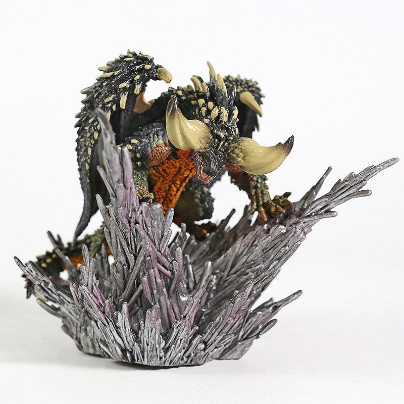 Monster Hunter funda del mundo monstruos Nergigante PVC figura juguete de modelos coleccionables