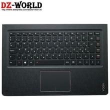 Верхний чехол для Palmrest с клавиатурой с подсветкой и сенсорной панелью для Lenovo Ideapad Yoga 900-13 ISK ISK2 Laptop C Cover 5CB0K48427