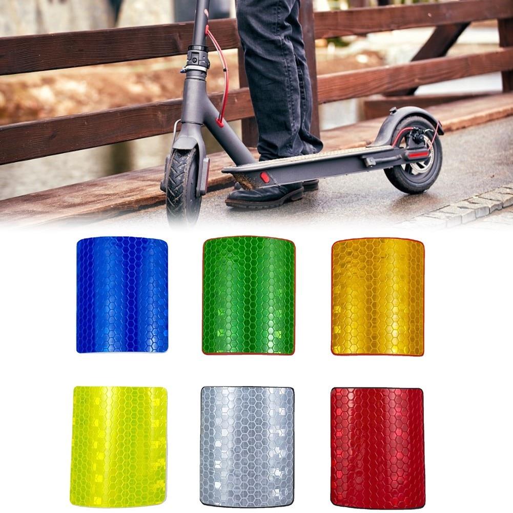 1 комплект, передняя и задняя крышка колеса и наклейка для отражателя лицензии для XIAO * MI M365/PRO PET электрических скутеров, запчасти, аксессуары