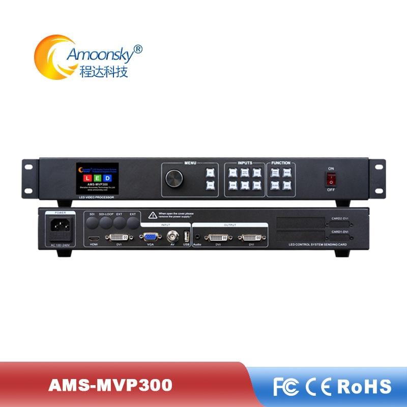 Procesador de vídeo mvp300 con matriz led rgb de pared de buena calidad, conmutador continuo para pantalla de vídeo led flexible a todo color