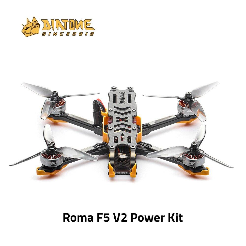 DIATONE روما F5 V2. DJI الطاقة عدة (لا DJI الهواء وحدة) 4S/6S مع F722 DJI MK2 FC 2306.5 المحرك