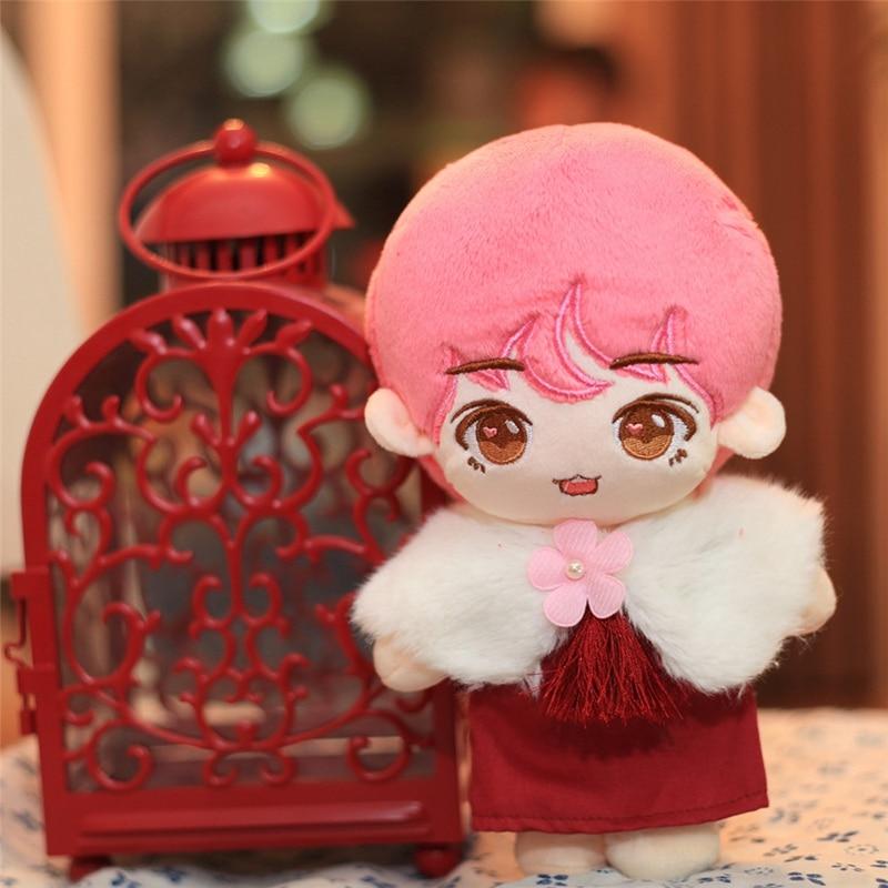 25cm China Doll Cute Cartoon Boy Plush Toy Doll Stuffed Toy Pillow Superstar Doll Boys Soft Doll Toy Kid Birthday Christmas Gift