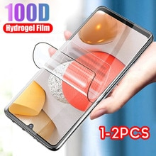 1-2PCS screen protector for samsung a42 hydrogel film protective for samsung galaxy a42 a 42 samsung