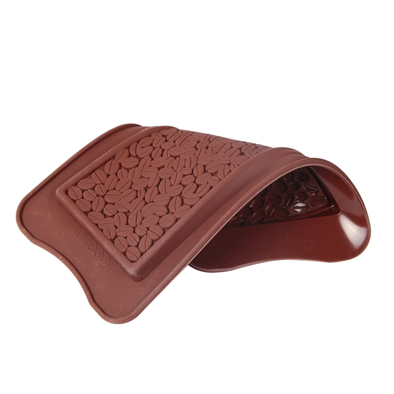 Coffee Bean Silicone Chocolate Mold Rice Whole 3D Irregular Cake Decorated with Jelly Pudding Candy Biscuit Baking Tools  - buy with discount