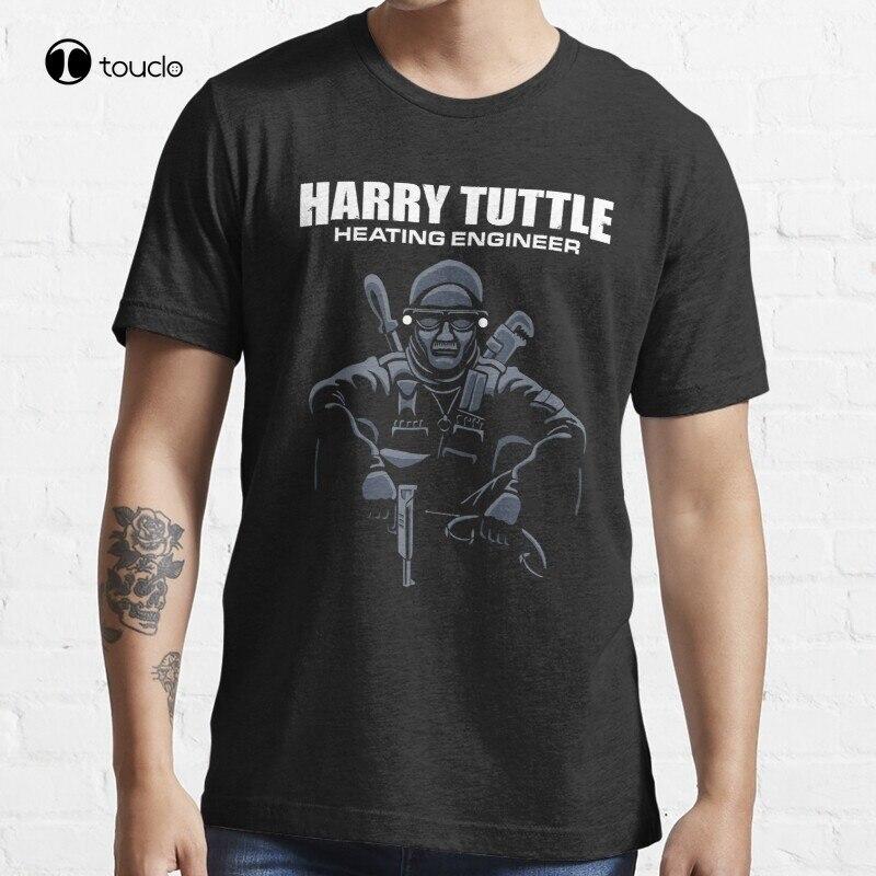 Harry Tuttle - Heating Engineer Brazil Robert De Niro T-Shirt Cotton Tee Shirt S-5Xl