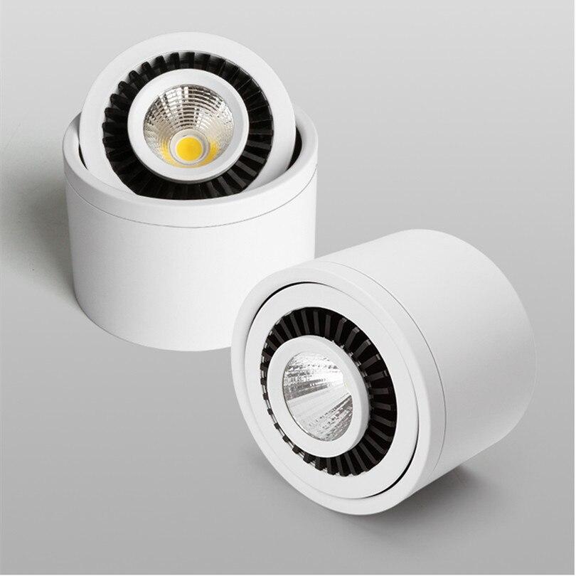 Lámpara de techo de Luz empotrada montada en la superficie, regulable, ajustable,...