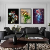 fantasy hip hop dancing anime picture poster canvas print painting wall art living room home decoration
