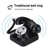 wx 3011 vintage telephone black home telephone retro wire landline phone telefono fijo telefone fixo landline phone