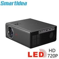 Smartldea     projecteur LED natif portable 1280x720P  compatible Full HD 1080P  pour Home cinema 3D