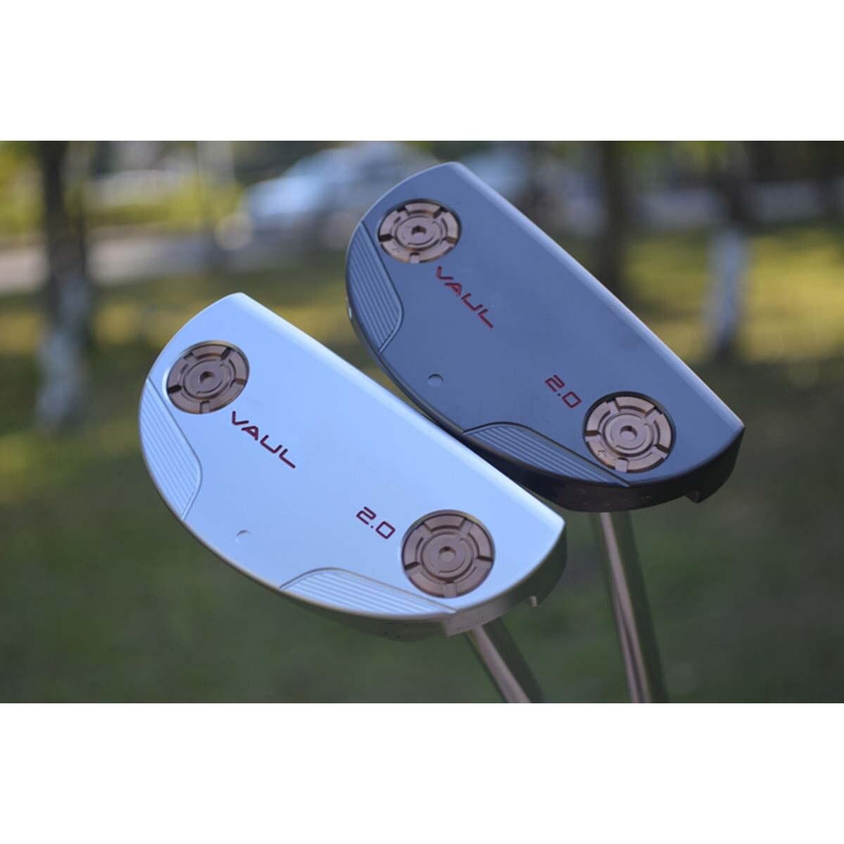 Golf Putter vaul 2.0 with Semi-circular Putter Golf Club Soft Iron Forging with Logo