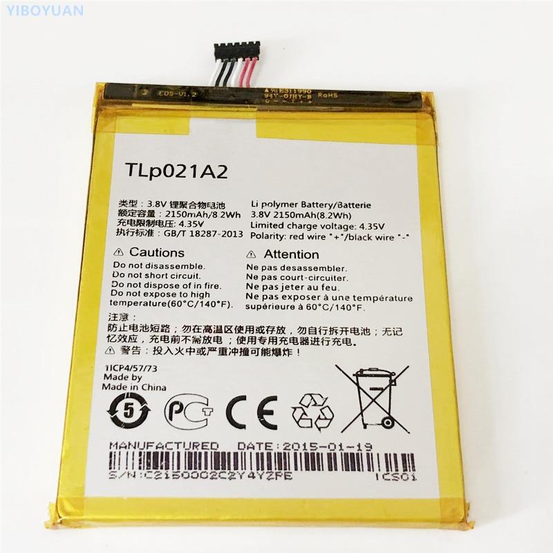 3,8 V 2150mAh para Alcatel One Touch Idol 2 OT-6037K OT-6037Y OT-6037W de OT-6037B, OT-6037I de batería