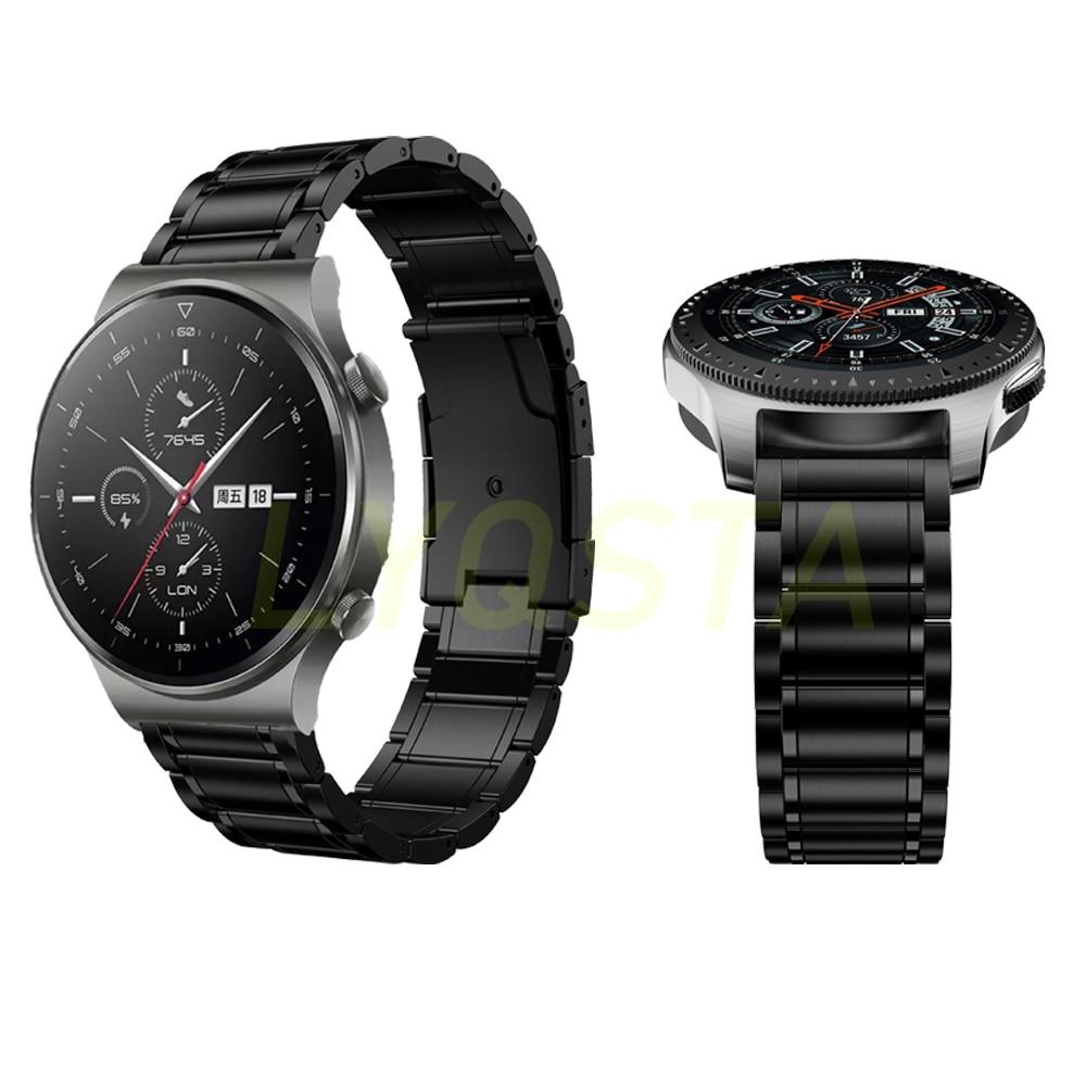Cinta para Huawei Acessórios para Honra Liga de Titânio Relógio Inteligente Magia 1 – 2 Easyfit Pulseira 22mm Gt2 Pro 46