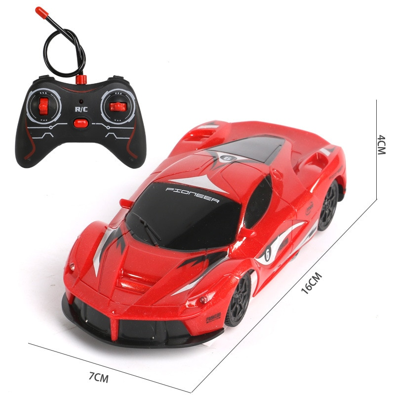 New RC Car Wall Driving Racing Car Toys Mini Car Climb Across the Wall Remote Control Toy Car Model Christmas Gift for Kids enlarge