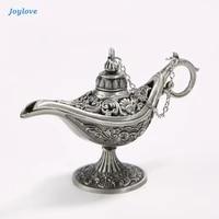 joylove traditional hollow out fairy tale magic lotus flower lamp retro incense burner for home decor