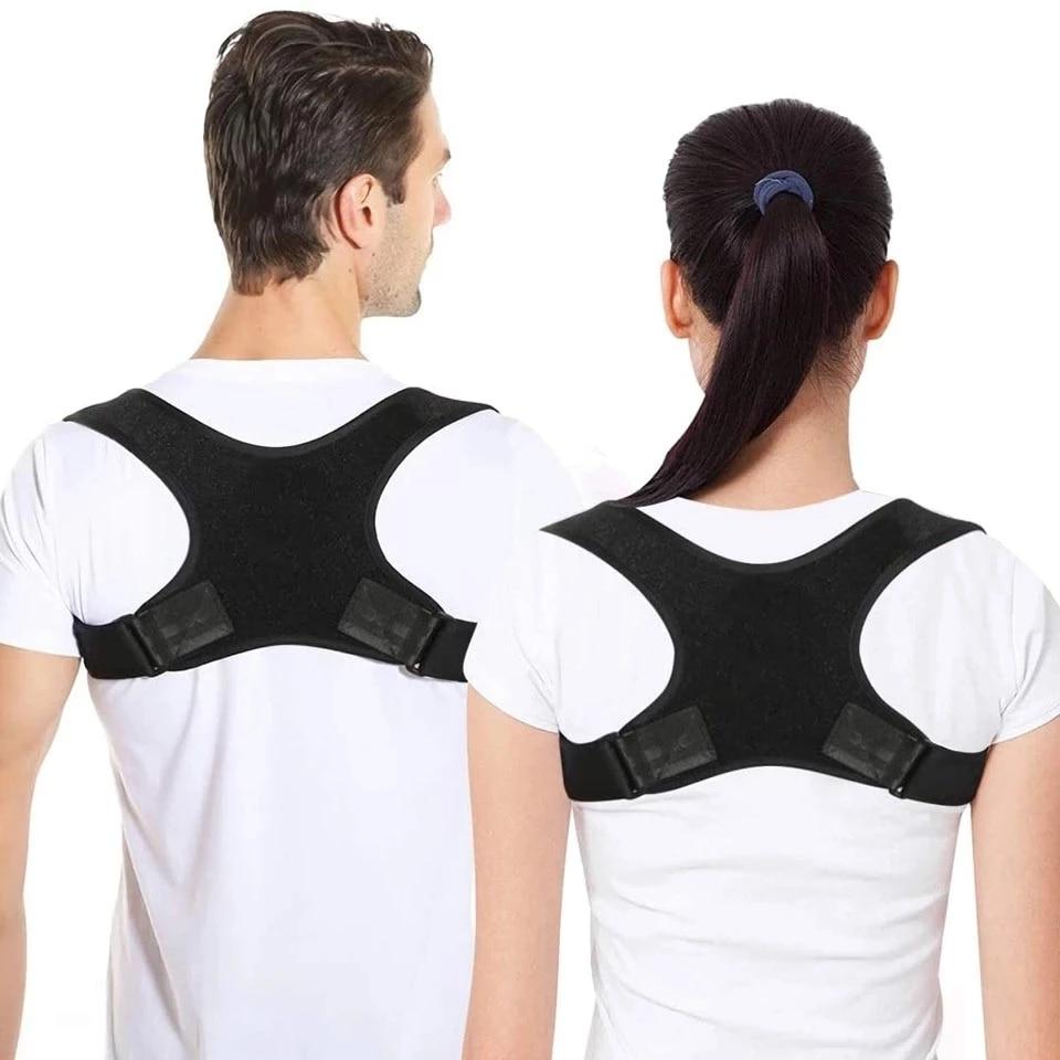 New Posture Corrector Spine Back Shoulder Support Corrector Band Adjustable Brace Correction Humpbac