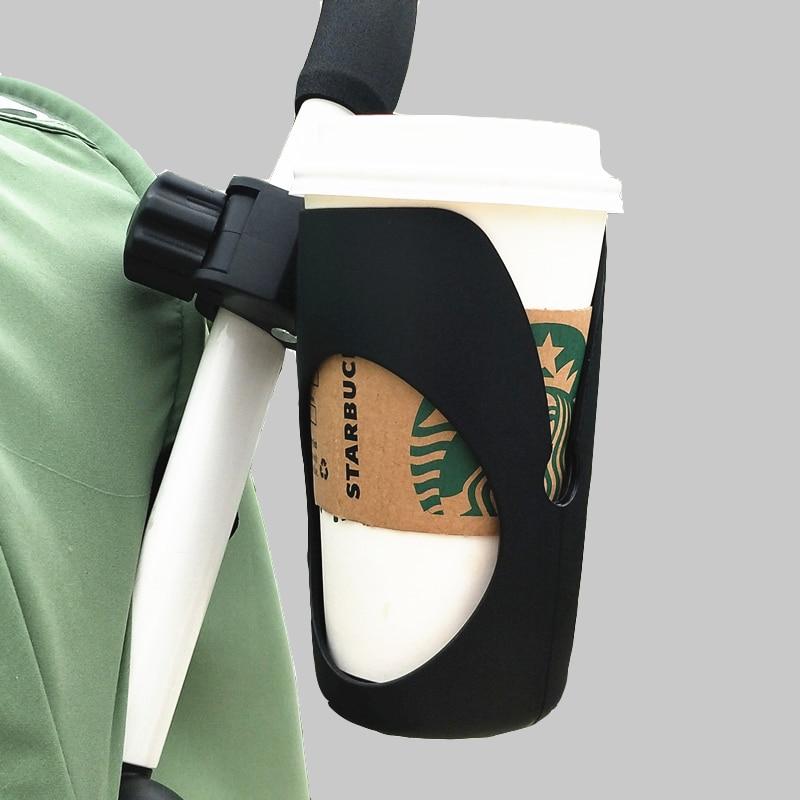 Cochecito de bebé organizador de taza de café soporte de botella de agua de leche universal triciclo bicicleta cochecito de bebé