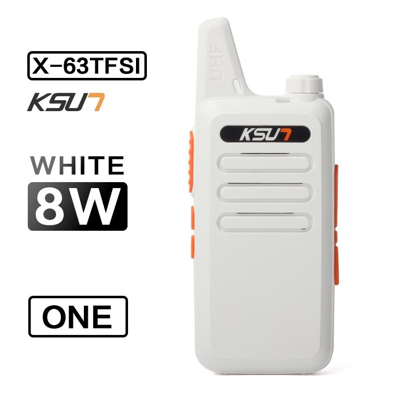 X-63TFSI Walkie Talkie Mini Talkie Walkie UHF 400-470HMz Two Way Radio Ham Radio Portable Handheld Radio Comunicador enlarge