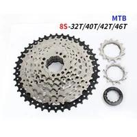 sunshine mtb cassette 8 speed 32404246t mountain bicycle freewheel bike sprocket mountain for shimano sram bike parts