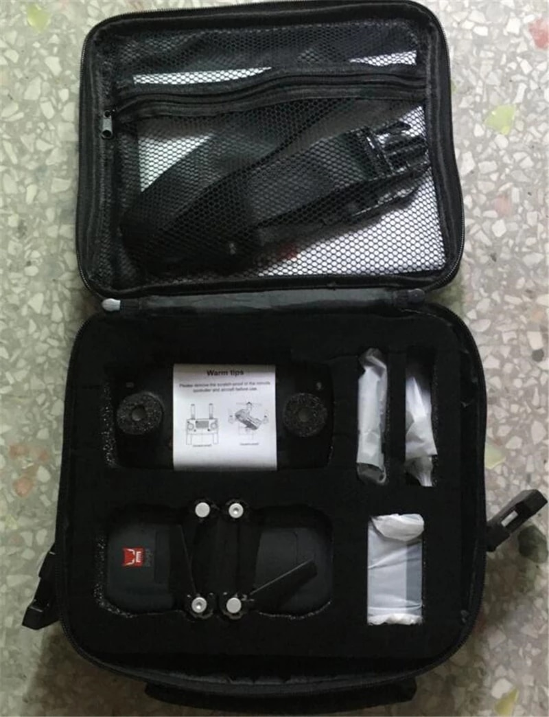 Pocket Portable Carrying Case Travel Storage Bag Protective Travel Carry Box Cover Bags for MJX Bugs 7 B7 GPS Drone