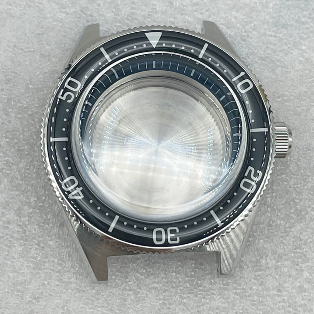 Diver Watch Case For Seiko Sbdc053 62MAS High-quality Modified Case Sapphire Pot Cover Watch Mirror Sapphire Scale Ring enlarge