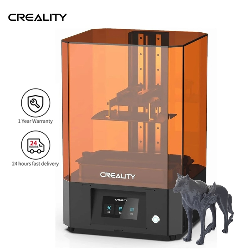 Creality LD-006 4K الراتنج طابعة ثلاثية الأبعاد 4.3 في 192x120x250 مللي متر LCD الراتنج UV صور علاج 4K أحادية اللون شاشة مصفوفة سهلة التسوية