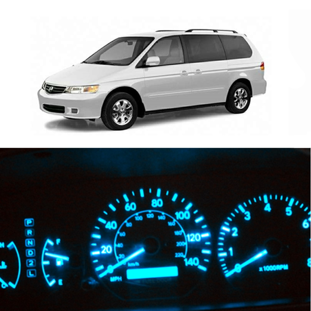 WLJH 24x brillante Led Kits Dash Light Panel de instrumentos Cluster iluminación de retroiluminación bombillas para 1998-2004 Honda Odyssey
