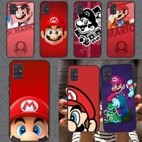 mario game phone case for redmi note10 9 8 pro 6a 4x 7 7a 8a smart 5plus 4 5 7 8t cover coque