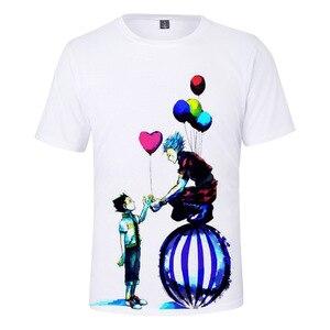 Japan Anime Hunter X Hunter Hisoka 3D T Shirt Women Men Short Sleeve Funny T Shirts Streetwear Kids Children Tops 3d Tee Shirts