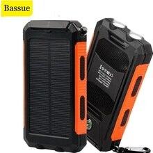 Solar Power Bank 50000mAh Portable Charging Poverbank External Battery Charger Powerbank 50000 mAh f